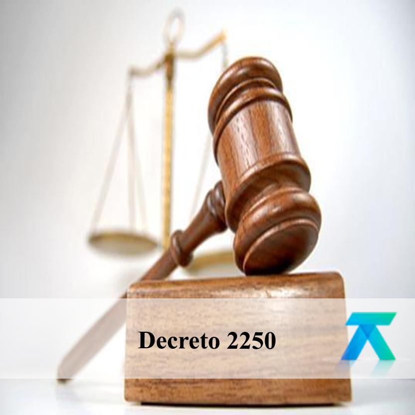 Decreto 2250 del 29 de diciembre de 2017