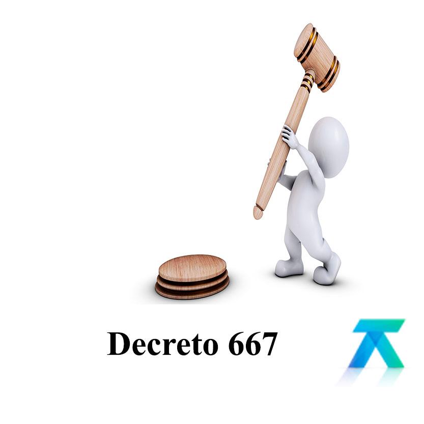 Decreto 667