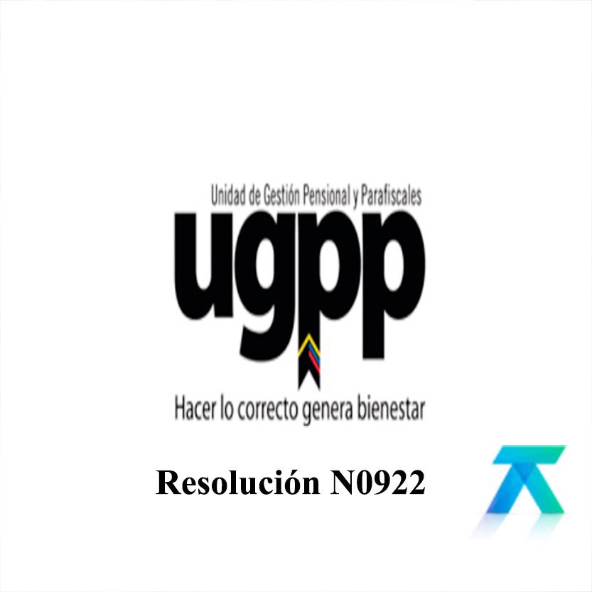 Resolución N0922 UGPP