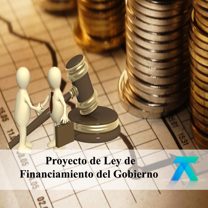 Proyecto de Ley de Financiamiento del Gobierno