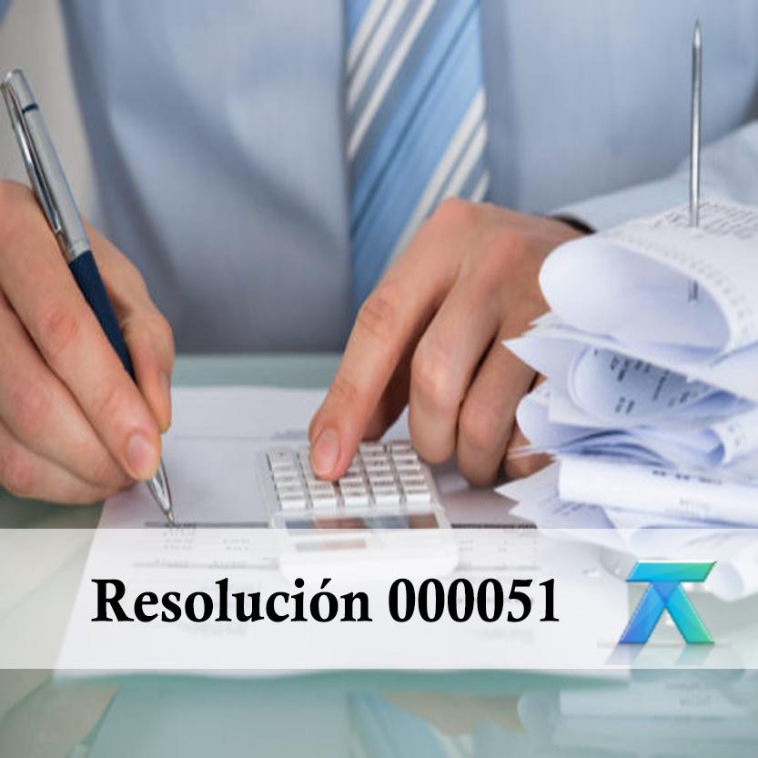 Resolución 000051