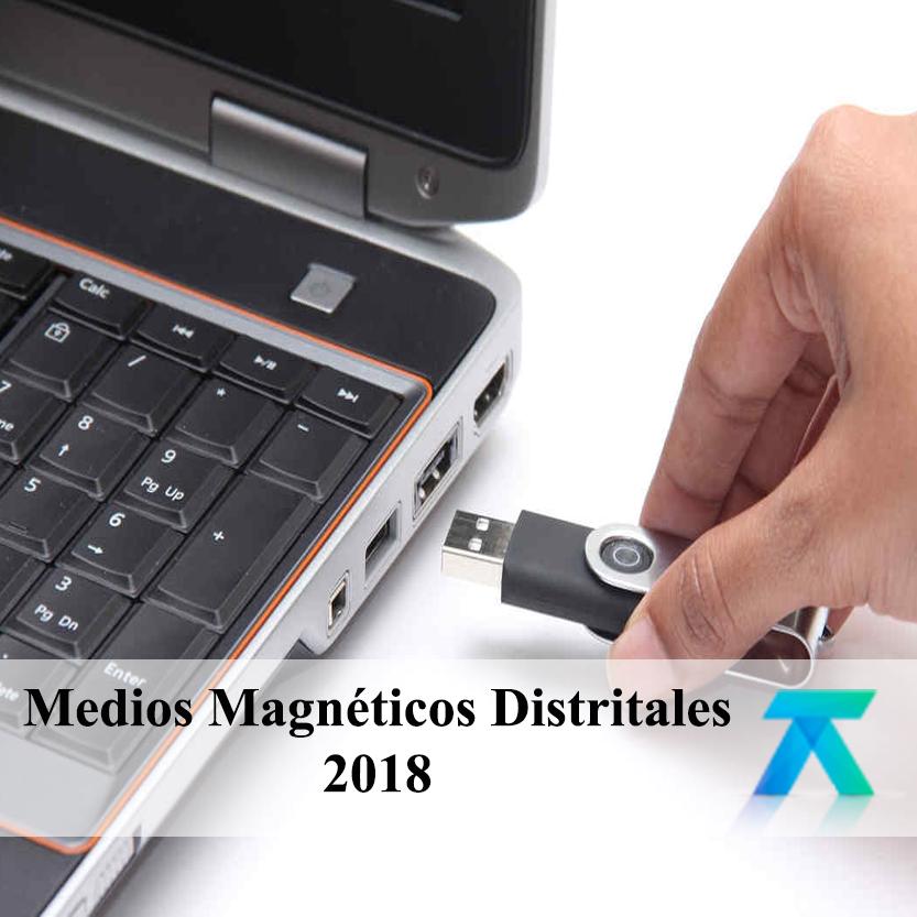 Medios Magnéticos Distritales 2018