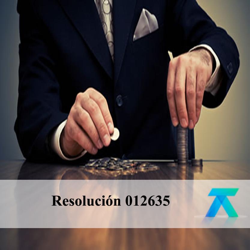Resolución 012635