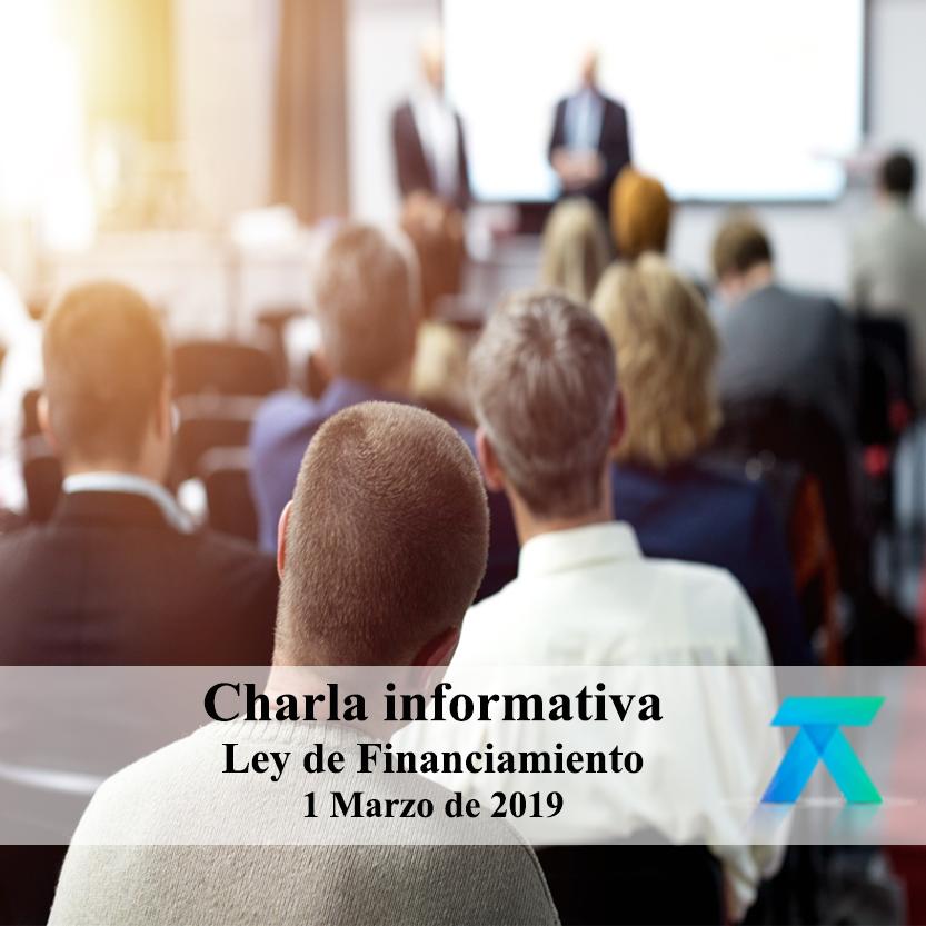Invitación a charla informativa tributaria