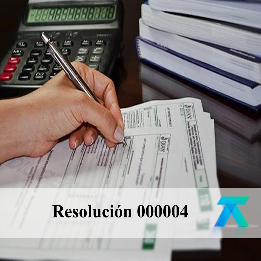 Resolución 000004