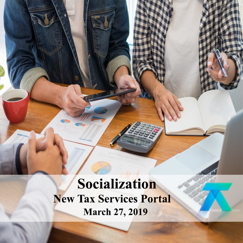 Socialization of the New Tax Services Portal