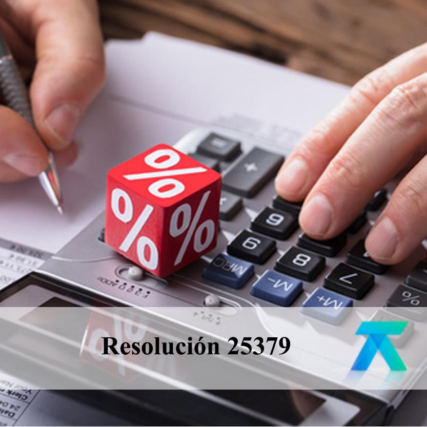 Resolución 25379
