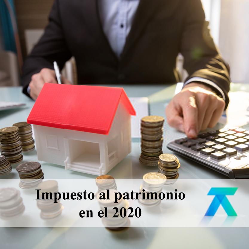 Impuesto al patrimonio en el 2020