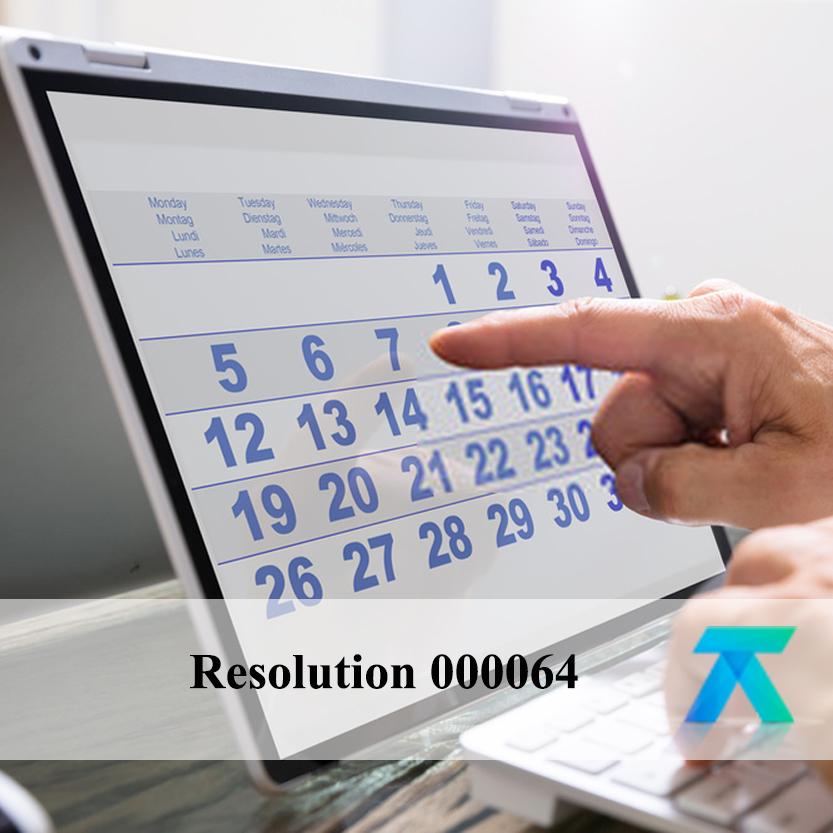 Resolution 000064