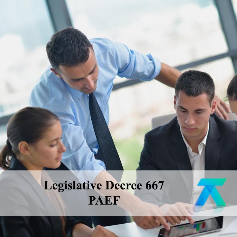 Legislative decree 667