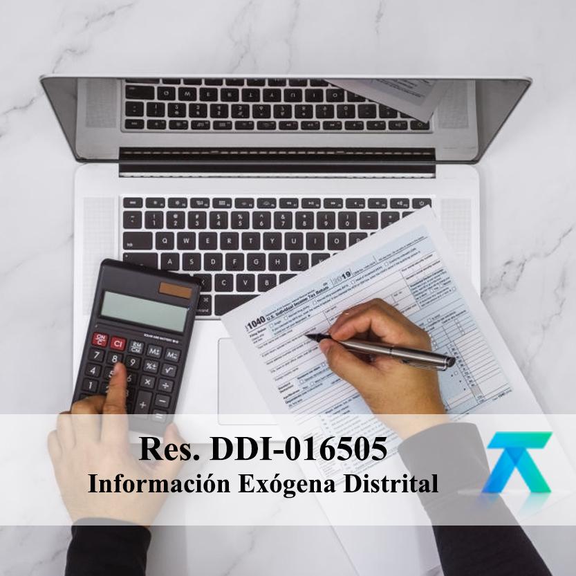 Resolución DDI-016505