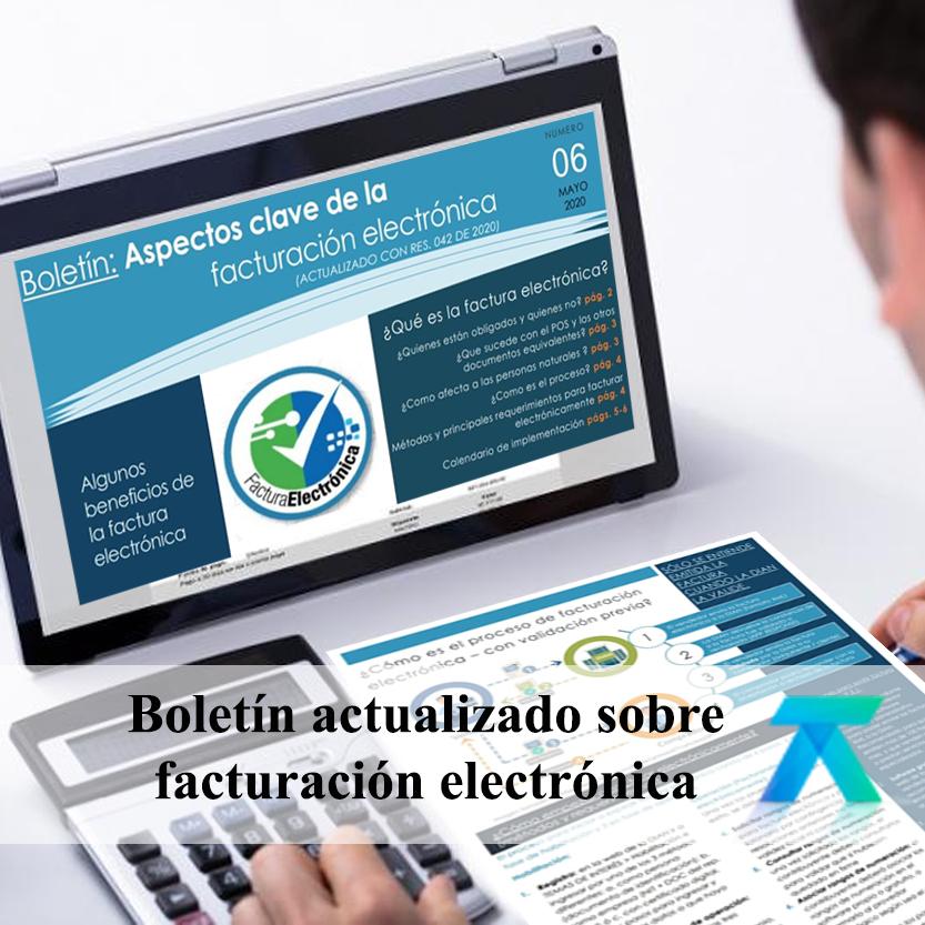 Boletín: Aspectos clave de la facturación eléctronica