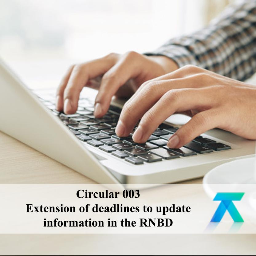 External Circular No. 003